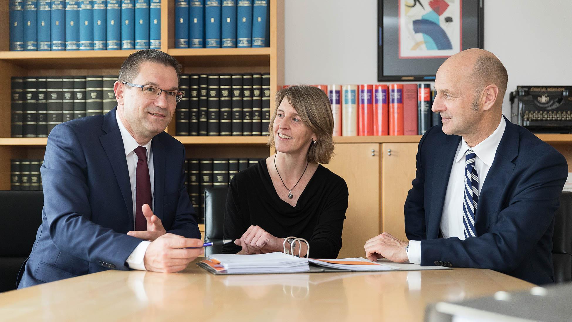 Konferenz Besprechung Kanzlei Zieglmeier und Stark Wirtschaftsprüfer und Steuerberater aus Ingolstadt